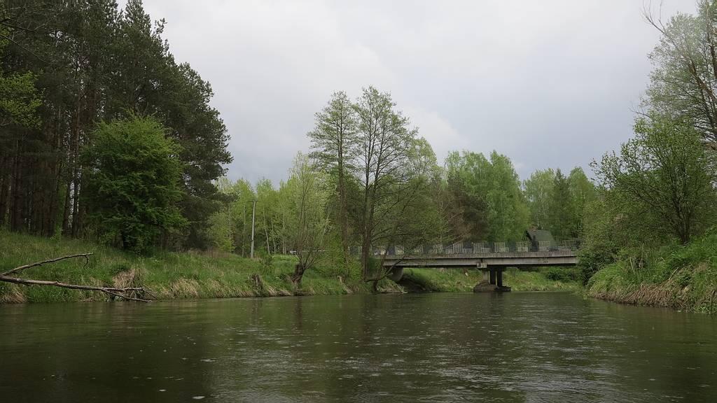 Most Kaługa - Nielbark
